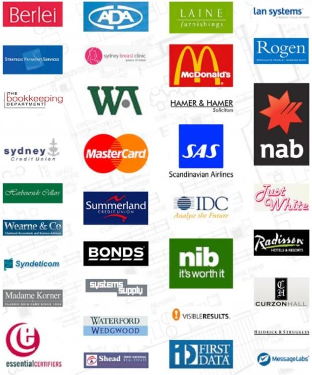 IIT client logos