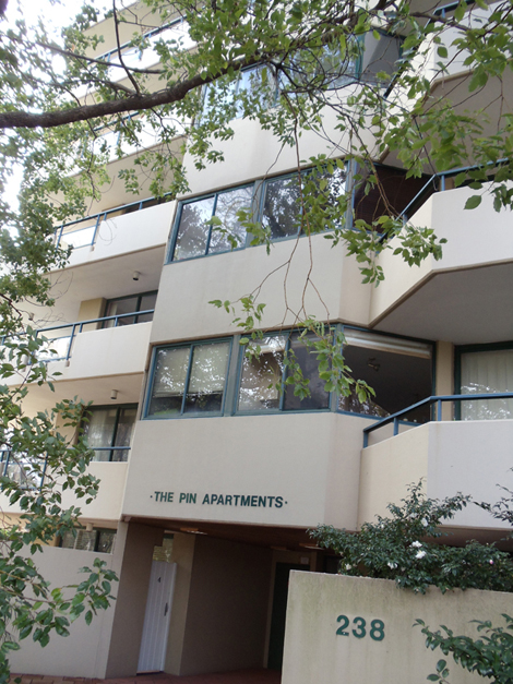 The Pin Apartments - exterior
